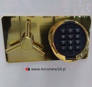 Sejf gabinetowy SL 45/I -  E   GOLD