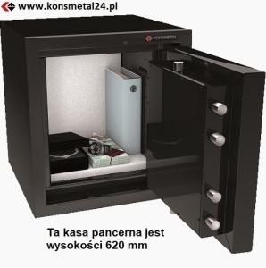 Kasa pancerna KP ECB*S PREMIUM CHROM /II 180-E