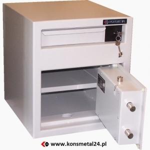 Sejf kasjerski ML 45+/S1 - K  (klasa S1)